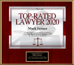 Top-Rated Lawyer 2020 - Mark A. Ivener